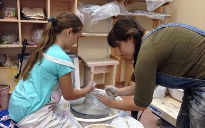 Expanding River Arts Gallery Pottery Classes